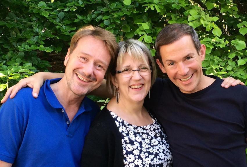 Alte Liebe: Rainer Bielfeldt, Edith Jeske und Tim Fischer (© Peter Heske)